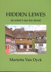 Book jacket: Hidden Lewes, by M. van Dyck