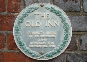 Britannia Inn plaque
