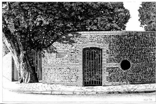 Southover_Grange_Garden_Gates_by_Marietta_van_Dyck, Lewes