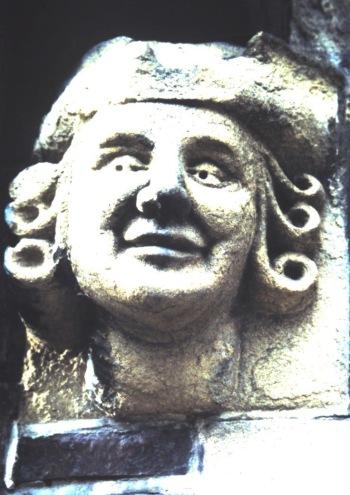 Stone head, Lewes