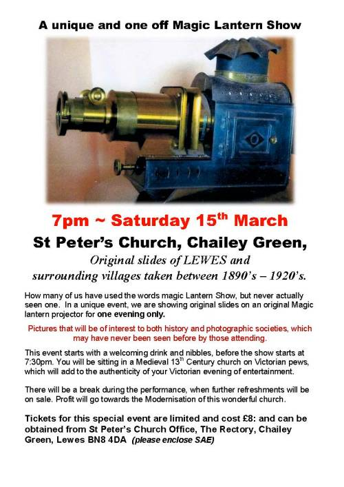 St Peters Magic Latern Show poster