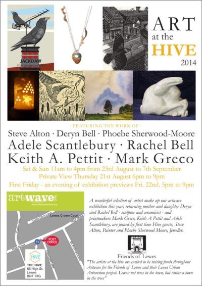 Hive Artwave 2014 poster