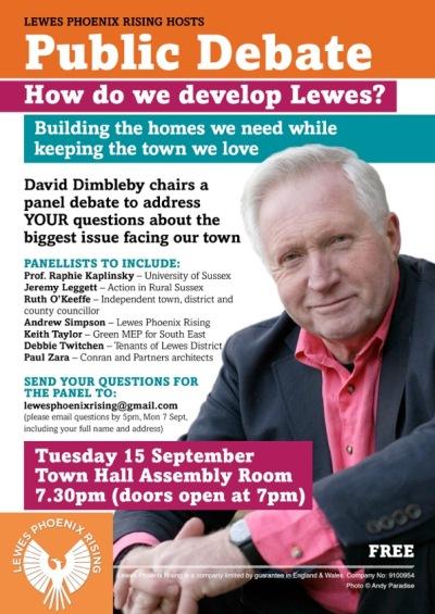 Dimbleby Lewes Phoenix Rising debate