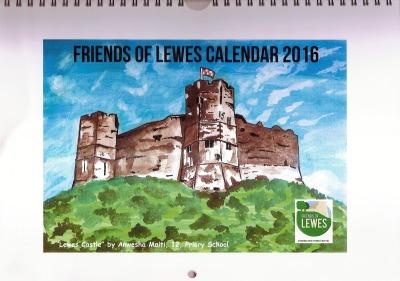 FoL Calendar Cover 2016