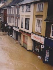 Lewes in flood