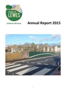 FoL Annual Report 2015 front page