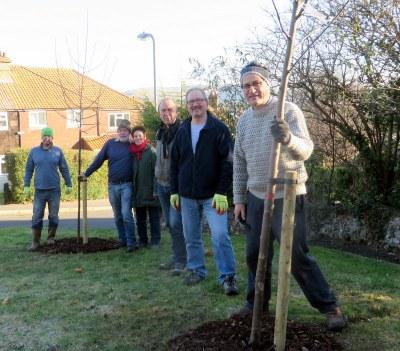 Lewes Nevill tree planting