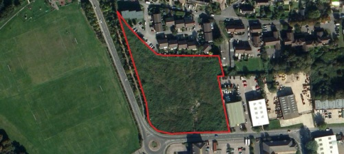 Southdowns Road development site