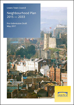 Lewes Neighbourhood Plan 2015-2033 Pre-Submisson Draft May 2017