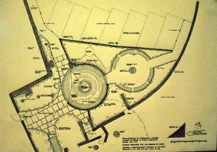 Lewes Peace Garden plan
