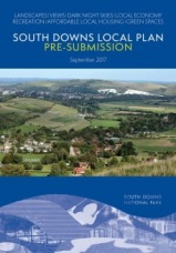 SDNPA South Downs Local Plan Pre-Submission 2017 cover