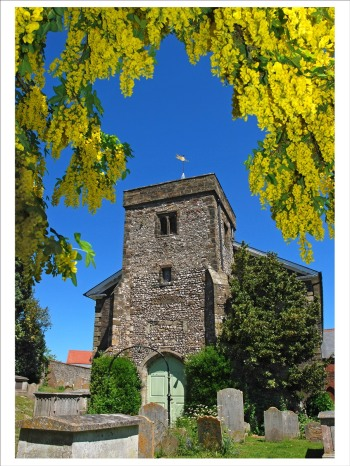 Robin_Bath_Laburnum_Arch_All_Saints, Lewes