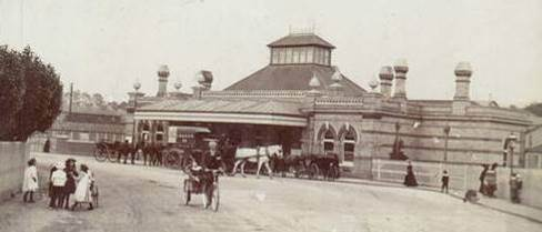 Third Lewes railway station, built 1889