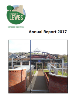 Friends of Lewes Annual Report 2017 cover page