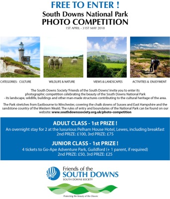 South Downs Society Photo Competition 2018