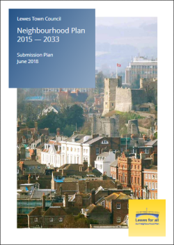 Lewes Submission Neighbourhood Plan June 2018 cover