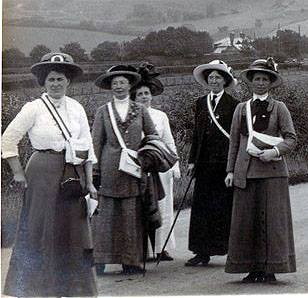 Women's vote - Stenlake talk to the Friends of Lewes
