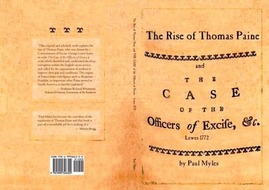 Myles-The Rise of Thomas Paine, book cover