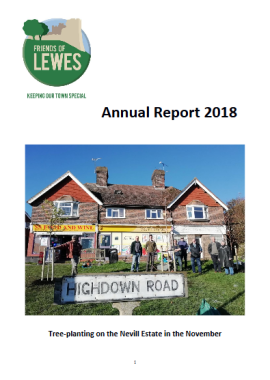 Friends of Lewes Annual Report 2018 front page