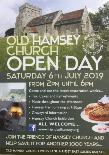 Hamsey Church Open Day 2019