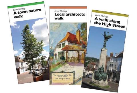Lewes Heritage Open Days 2020 walks leaflets