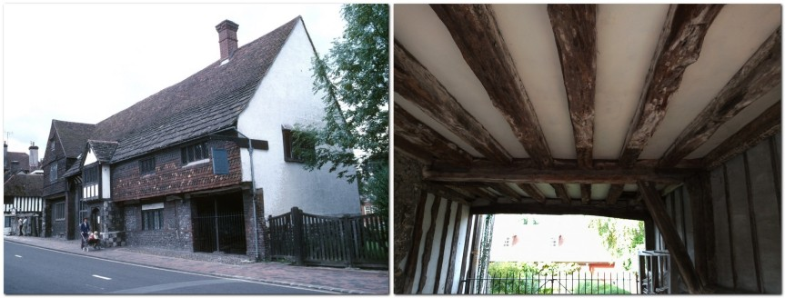Anne of Cleves House 1975, and timbers