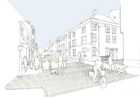 Lewes High Street by N Wiseman