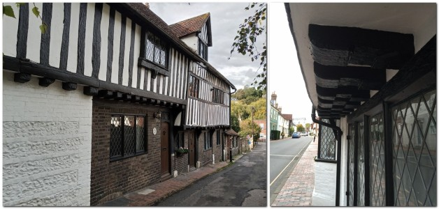 Timbers on Potters Lane, and Southover High Street, Lewes