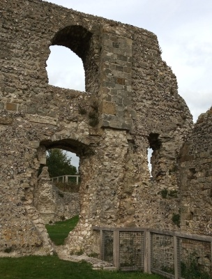 Lewes Priory buttress