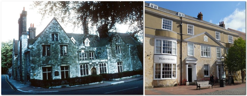 Southover Grange, and Dial House, Lewes