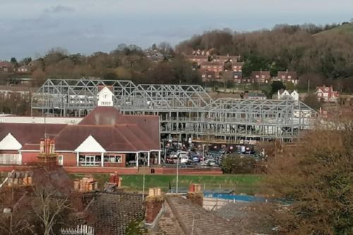 Development at Brooks Close, Lewes, Nov. 2020