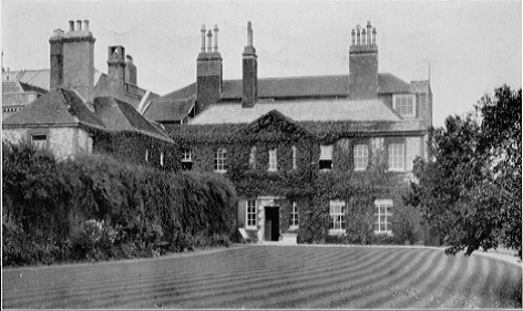 Lewes House from the South, 1900